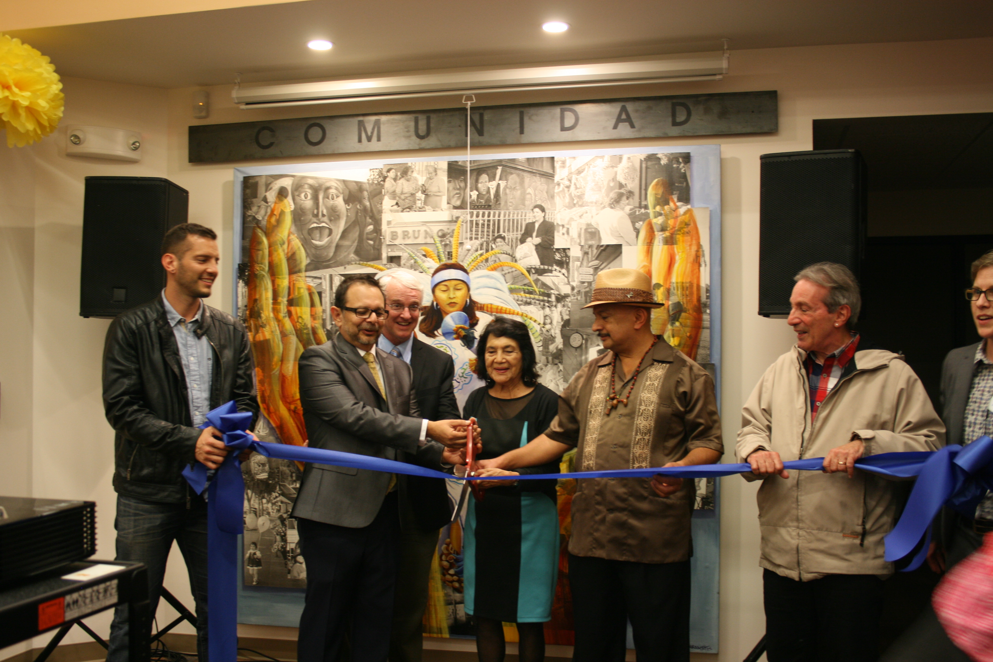 Ribbon Cutting for Self-Help Federal Credit Union's San Francisco Branch